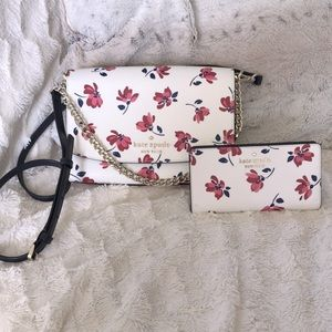 Kate Spade Matching set 💕 Toss and wallet w/dustbag